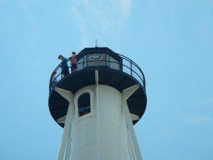 lighthouse bottom top