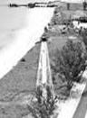 old black & white photo of gasparilla lighthouse