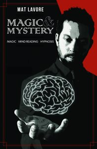 Mat LaVore Magic Mystery - Generic Theatre Promo Poster