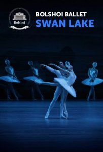 Swan Lake performance poster