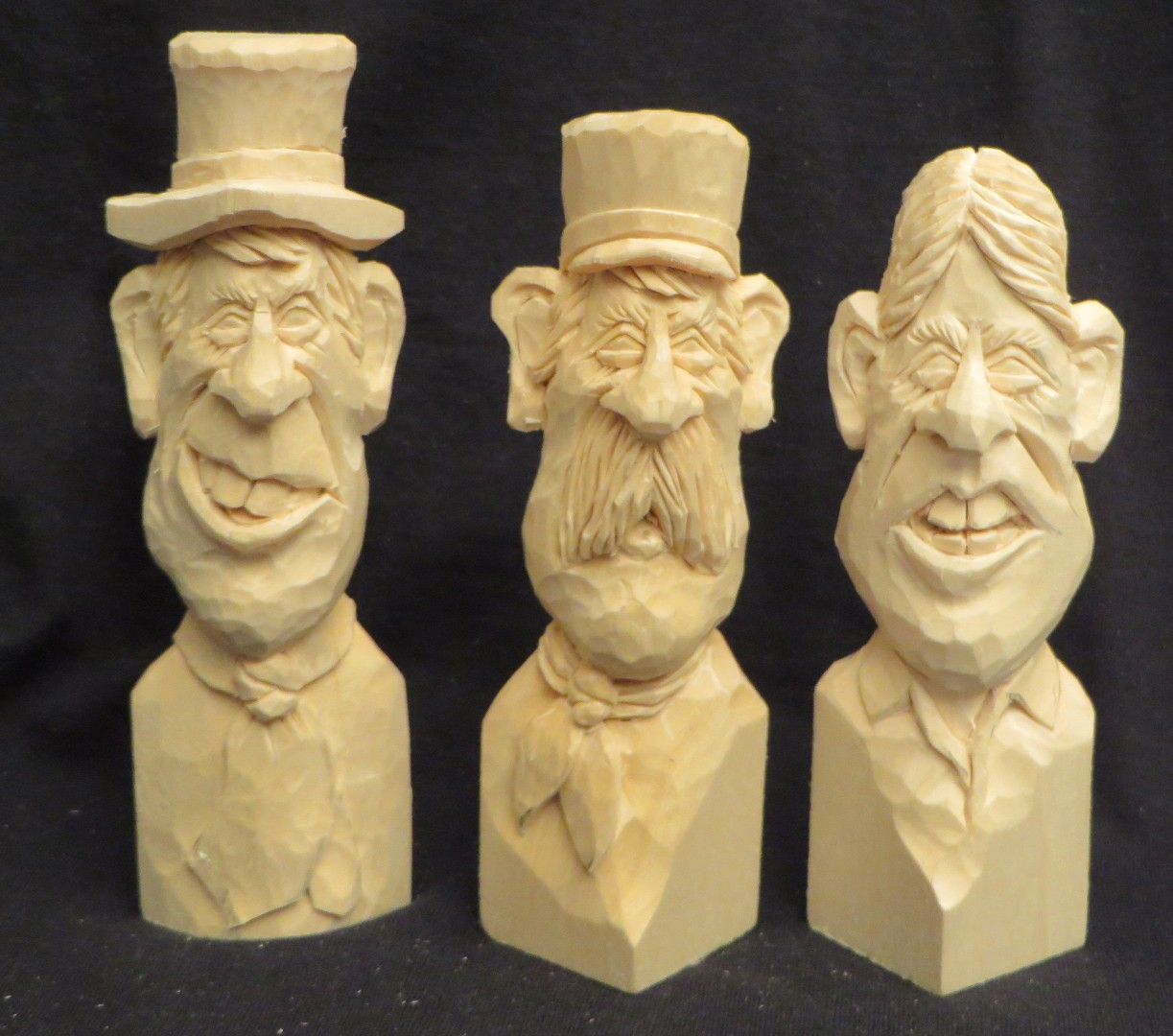 Workshop woodcarving a caricature wih pete leclair boca