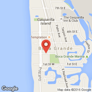 Boca Grande Art Center map