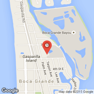 Gasparilla Inn map