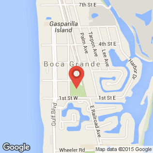 Boca Grande Community Center map